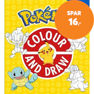 Produktbilde for The Official Pokemon Colour and Draw (BOK)