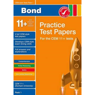 Bond CEM Style 11+ Practice Test Papers 1 - All Questions (BOK)