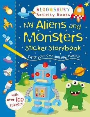 My Aliens and Monsters Sticker Storybook (BOK)