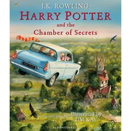 Produktbilde for Harry Potter and the Chamber of Secrets - Illustrated Edition (BOK)