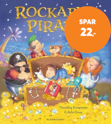 Rockabye Pirate (BOK)