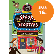 Produktbilde for Spooks and Scooters (BOK)