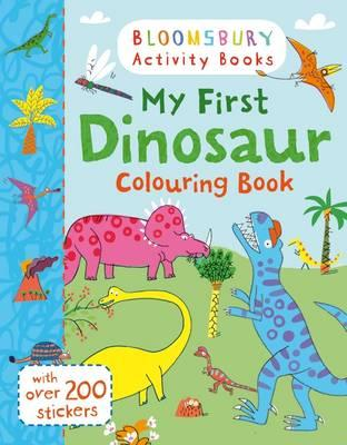 My First Dinosaur Colouring Book (BOK)