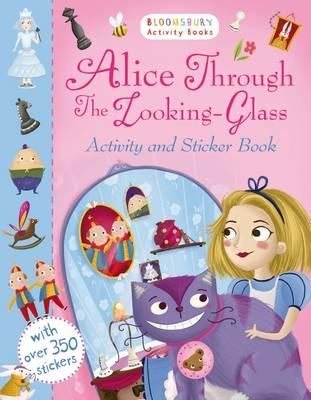 Alice Through the Looking Glass Activity and Sticker Book (BOK)