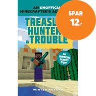 Produktbilde for Minecrafters: Treasure Hunters in Trouble - An Unofficial Gamer's Adventure (BOK)