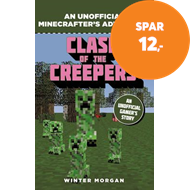 Produktbilde for Minecrafters: Clash of the Creepers - An Unofficial Gamer's Adventure (BOK)