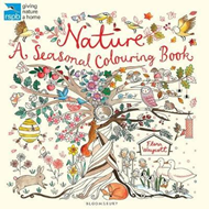 RSPB Nature: A Seasonal Colouring Book (BOK)
