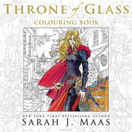 Throne of Glass Colouring Book (BOK)