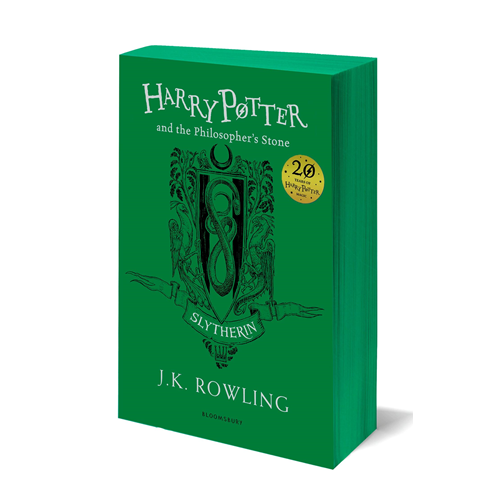 Harry Potter and the Philosopher's Stone - Slytherin Edition (BOK)