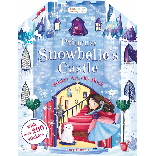 Princess Snowbelle's Castle Sticker Activity Book (BOK)