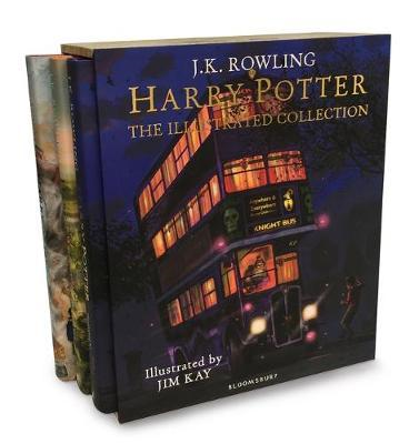 Harry Potter - The Illustrated Collection (BOK)