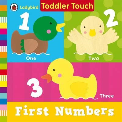 Ladybird Toddler Touch: First Numbers (BOK)