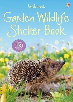 Garden Wildlife Sticker Book (BOK)