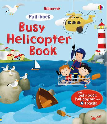 Pull-Back Busy Helicopter Book (BOK)