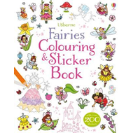 Fairies Sticker and Colouring Book (BOK)