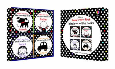Baby's Very First Black and White Four-book Gift Box (BOK)