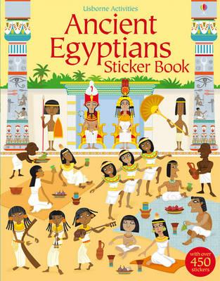 Ancient Egyptians Sticker Book (BOK)