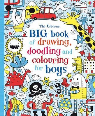 Big Book of Drawing, Doodling & Colouring for Boys (BOK)