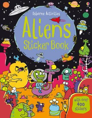 Aliens Sticker Book (BOK)