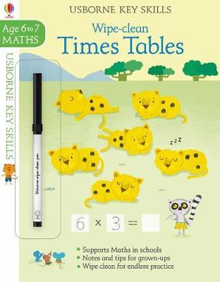 Wipe-Clean Times Tables 6-7 (BOK)