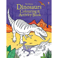 Produktbilde for Dinosaurs Colouring and Activity book (BOK)
