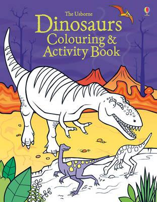 Dinosaurs Colouring and Activity book (BOK)
