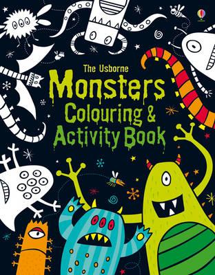 Monsters Colouring and Activity Book (BOK)
