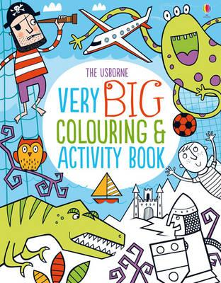Very Big Colouring and Activity Book (BOK)