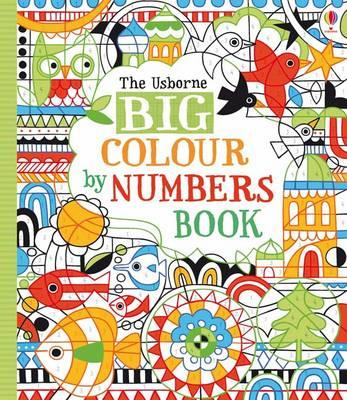Big Colour By Numbers Book (BOK)