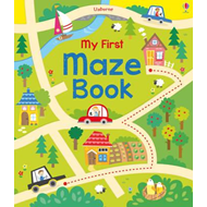 My First Maze Book (BOK)