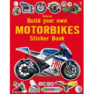 Build Your Own Motorbikes Sticker Book (BOK)