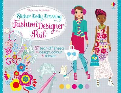 Sticker Dolly Dressing Fashion Designer Pad (BOK)