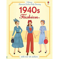 Historical Sticker Dolly Dressing 1940s Fashion (BOK)