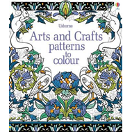 Arts & Crafts Patterns to Colour (BOK)