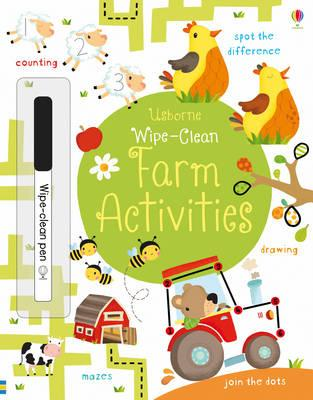Wipe-Clean Farm Activities (BOK)