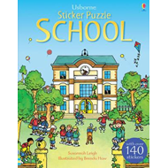 Sticker Puzzle School (BOK)