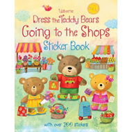 Dress the Teddy Bears Going to the Shops Sticker Book (BOK)