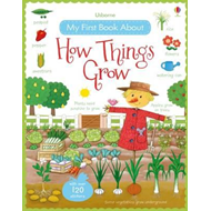 My First Book About How Things Grow Sticker Book (BOK)