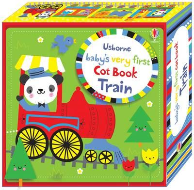 Baby's Very First Cot Book Train (BOK)