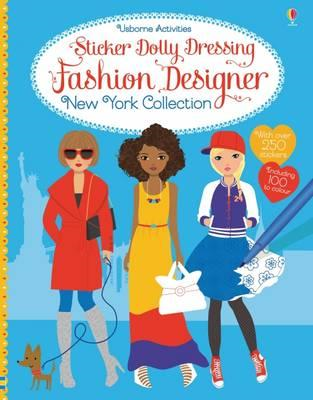 Sticker Dolly Dressing Fashion Designer New York Collection (BOK)