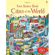 First Sticker Book Cities of the World (BOK)