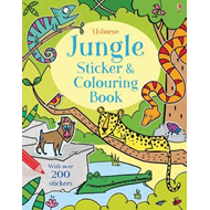 Jungle Sticker and Colouring Book (BOK)