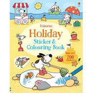Holiday Sticker and Colouring Book (BOK)