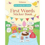 Get Ready for School First Words Sticker Book (BOK)