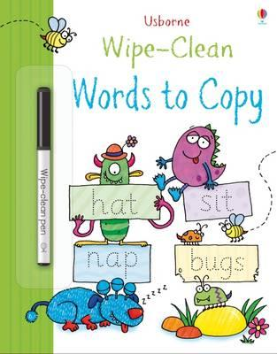 Wipe-Clean Words to Copy (BOK)