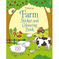 Produktbilde for Farm Sticker and Colouring Book (BOK)