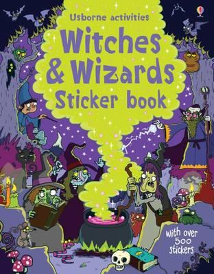 Witches and Wizards Sticker Book (BOK)