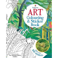 Art Colouring and Sticker Book (BOK)
