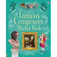 Famous Composers Sticker Book (BOK)