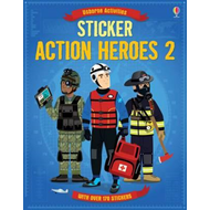 Sticker Dressing Action Heroes 2 (BOK)